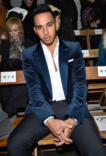 Новые темно-синие бархатные костюмы для мужчин, 2 шт. (Куртка + брюки + галстук).