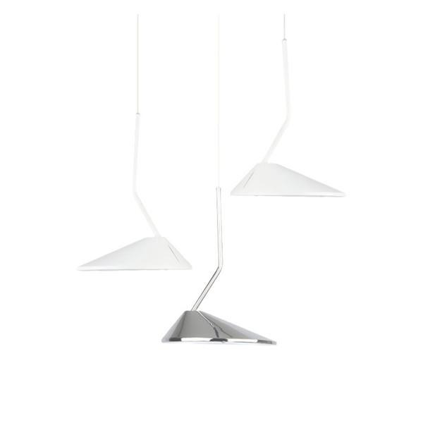 Modern White Black Metal Pendant Lights Retro Suspension LED Lamp Nordic Restaurant Bar Cafe Living Room Home Lighting