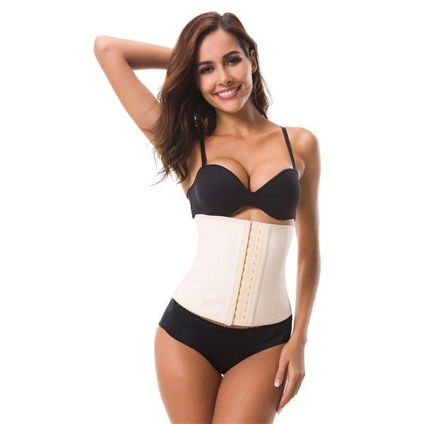 Hot shapers slimming waist shaper belt waist trainer cincher bustier corset modeling strap abdomen tummy shaper lose weight belt
