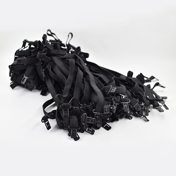 20 PZ Marca 2019 FAI DA TE Farfallino Accessori Per Uomo Donna Da Sposa Cravatta Regolazione Corda Nuovo Lunghezza Massima 45 cm 50 cm Elastico