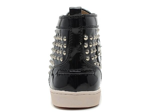 2109 European station new red bottom fashion designer shoes brand rivet custom-made clothing flat shoes red bottom men and women party