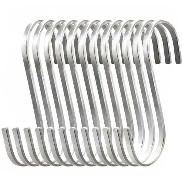 Gancio a S in acciaio inossidabile a 24 pezzi Gancio a S per appendere, gancio per S di tipo guardaroba