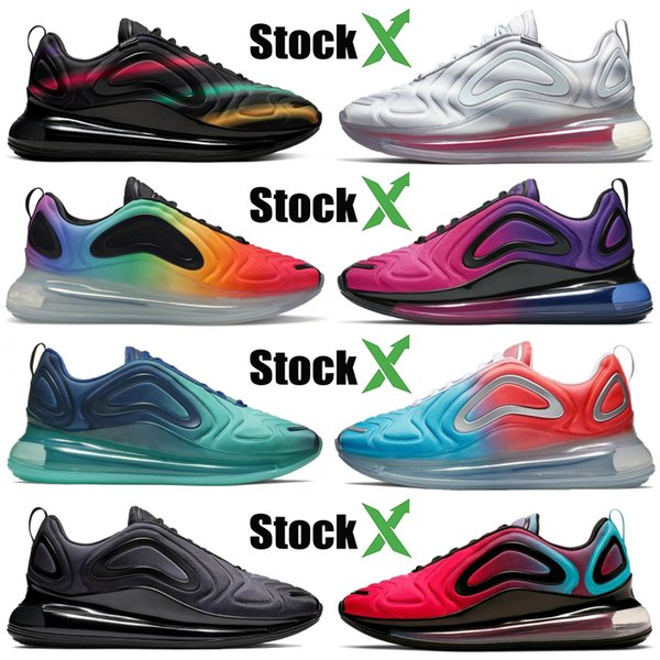 Compre Nike Air Max 720 University Blue Void Sea Forest Red Orbit Teal Nebula OG Hombres Zapatillas De Running Para Mujer Zapatos De Diseñador Be True