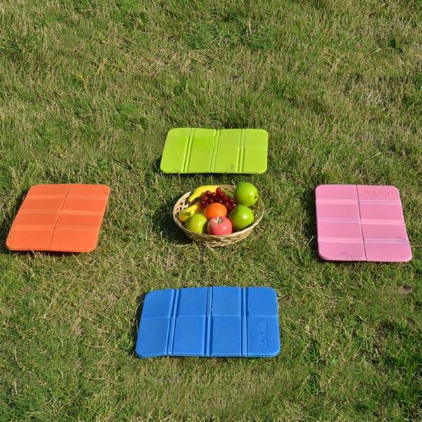 Pieghevole pieghevole da campeggio esterno in schiuma sedile sedia impermeabile sedia picnic picnic tappetino da viaggio stuoie da spiaggia cuscino sedile in schiuma pieghevole caldo