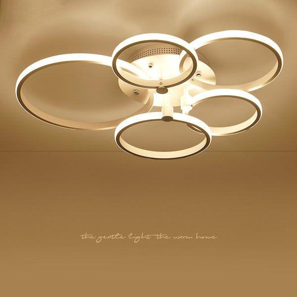 Großhandel Moderne Led Deckenleuchten Lampen Für Wohnzimmer Schlafzimmer  Licht Weiß / Braun Plafonnier Led Deckenleuchte Led Licht Deckenleuchte Von  ...