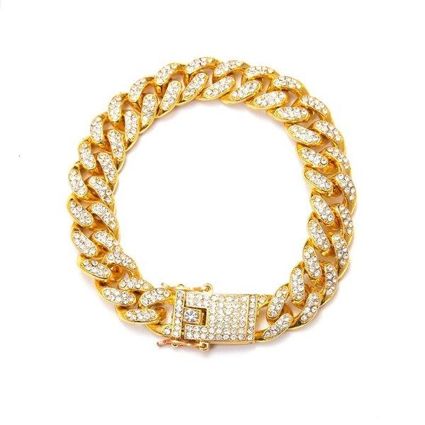 b gold 18.5 cm long