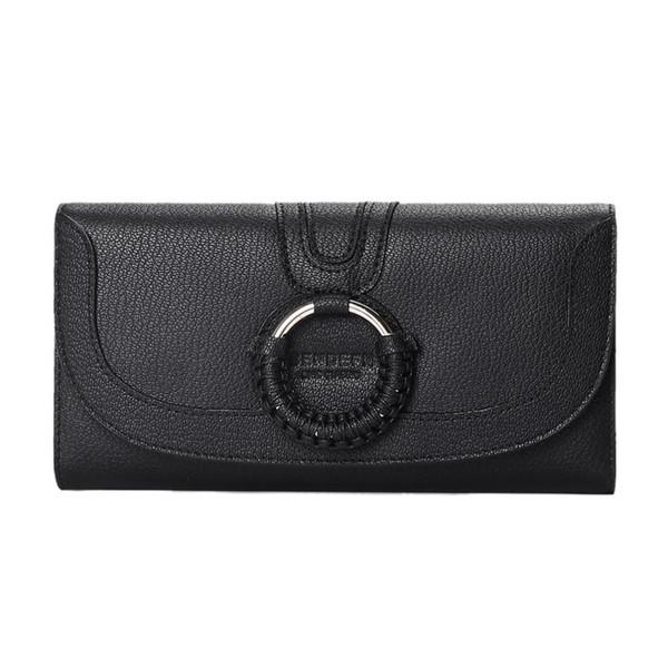 LJL-New Ladies Long Wallet Korean Version Of The Ring Women Female Wallet