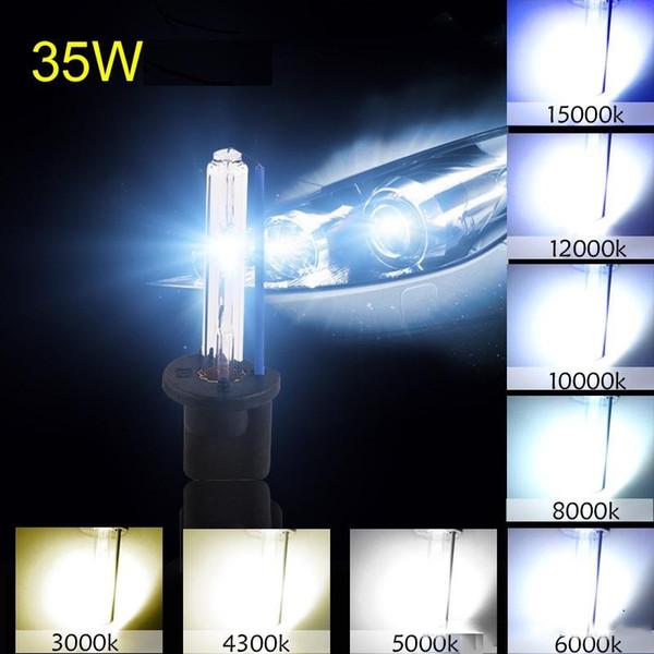 2pcs hid bixenon xenon kit bulb 35w 3000k 4300k 5000k 6000k 8000k 10000k 12000k h1 h3 h7 h11 hb3 hb4 h27 car styling