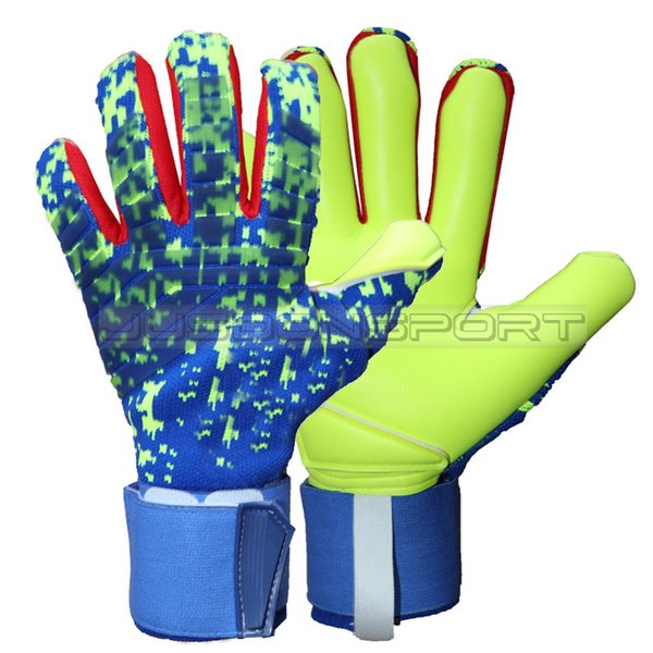 best selling 2019 New man soccer gloves without fingersave Professional goalkeeper gloves Goal keeper Gloves Soccer Goalie Soccer