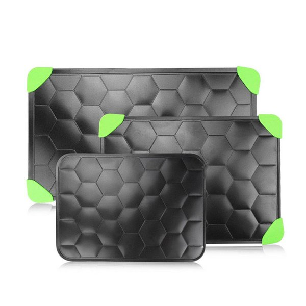 Defrosting Meat Tray Turtle shell Design Aluminum Square Thawing Board Rapid Defrosting Plate Kitchen Frozen Food Tool MMA2526