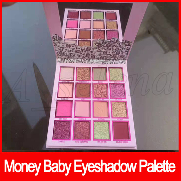 2019 Newest you're so Money Baby Eyeshadow Palette Eye Makeup 16 colors Eye Shadow Palette High quality DHL shipping