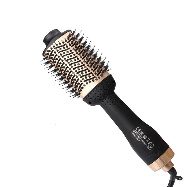 brosse sèche cheveux air chaud CHJ professionnel 4 en 1 fer à friser électrique rotatif vague bigoudis Bigoudi Styling ToolsMX190925
