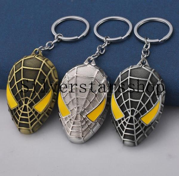 Spider-Man Mask Keys, Jóias Vingadores Aliança Periférica, Peças De Suspensão, Acessórios Para Automóveis, Pequenos Presentes, Hot Atacado