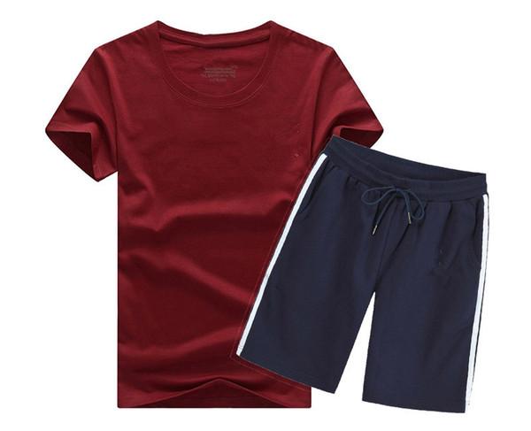 2019 летний новый мужской комплект короткие повседневные костюмы спортивная одежда мужская одежда человек две части мода наборы печати мужской толстовка мужчины марка S-5XL A03