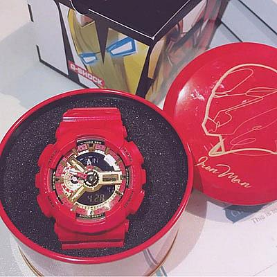 Marvel Watches Luxury Hero Series G Style Shock Watch All Pointers Work Auto Light Mens Designer Watches Captain America Iron Man With Box