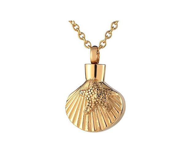 Fashion Jewelry Collier étoiles de mer pendentif plaqué argent étoile de mer pendentif poids total