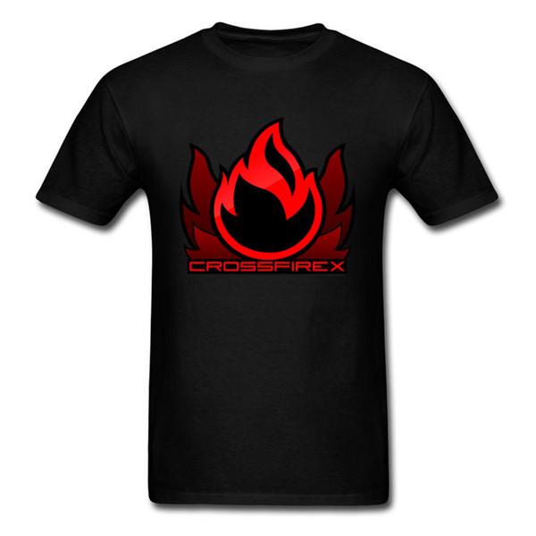 Throw Back Flame Men T Shirt Game T-shirt Gamer Good Tops Fire T Shirts Cotton Clothing Groups Loose Tshirt Black Tee
