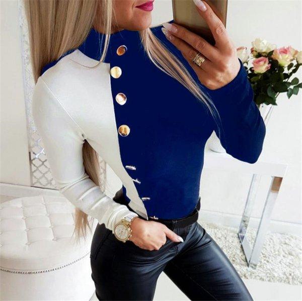Blau / Weiß