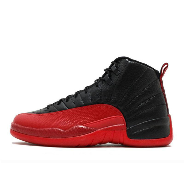 12 12s Basketball shoes for mens Winterized WNTR Gym red Flu game dark grey the master wolf grey men Sports Sneakers./;;';