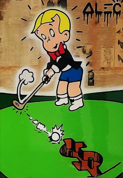 Alec Monopoly Banksy Urbane Kunst-Wand-Dekor Richie Rich Hauptdekor handgemaltes HD-Druck-Ölgemälde auf Leinwand-Wand-Kunst-Leinwand-200203