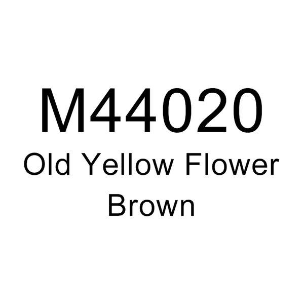 Старый Желтый Цветок-Коричневый