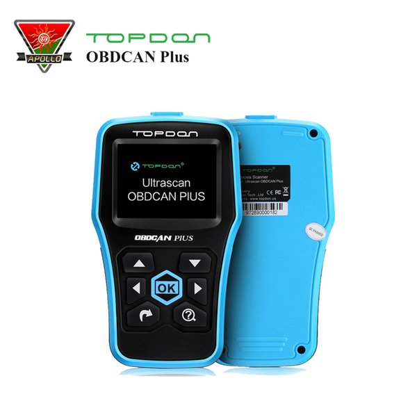 Topdon OBDII/OBD2 code Scanner OBDCAN Plus 2.0 better than AL519 Auto Diagnostic code reader easy to update free