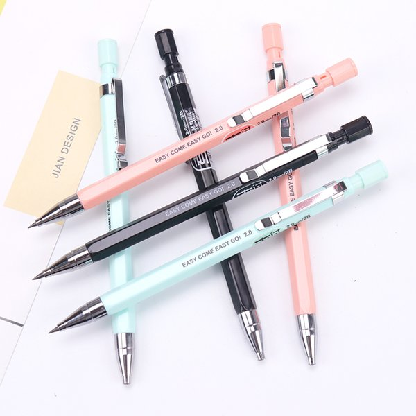 1 PC 2.0mm Creative Mechanical Pencil Kawaii Pencils For Writing Kids Girl Gift School Supplies Drawing Stationery