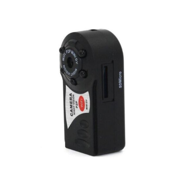 Q7 Mini Wifi DVR Caméscope IP Enregistreur Vidéo Caméra Caméra de vision nocturne infrarouge Détection de mouvement Microphone intégré DHL gratuit