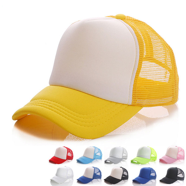 Toddlers Boys Girls Cartoon Baseball Caps Adjustable Outdoor Casual Sports Huts