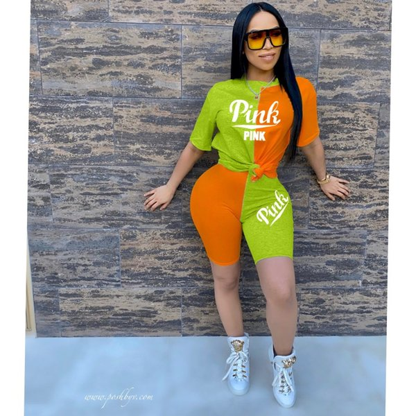 orange + green