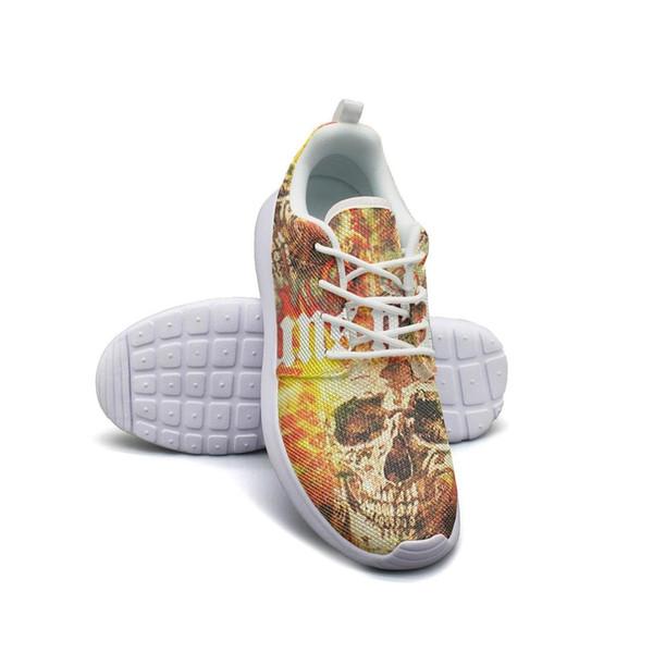 Guns N 'Roses Rise Ohio 2014 Event Fashion, chaussures rembourrées en mousse, édition limitée, confort, caoutchouc