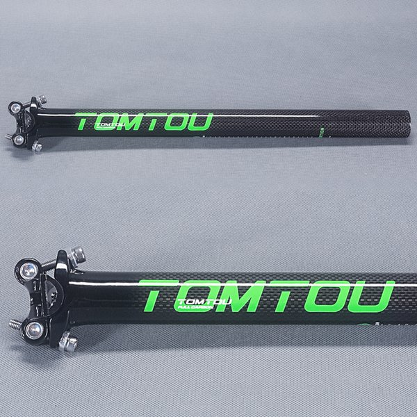 Carbon 3K MTB Road XC Bike Seat Saddle post Blade Seatpost tube 27.2//30.8//31.6mm