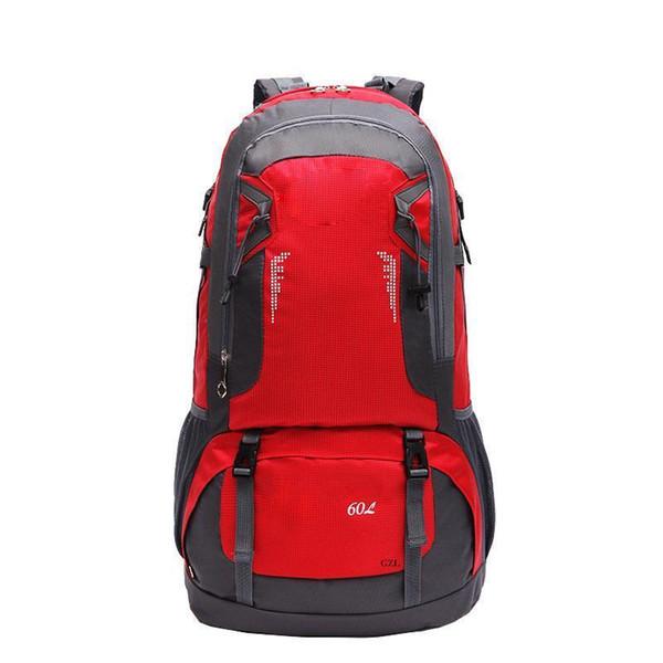 ad52d8758264 GZL 60L Waterproof Backpack Trekking Travel Bags Women Men Travel Backpack  Multi Purpose Big Capacity Large Lovers Bag Black8006 Travel Backpacks ...