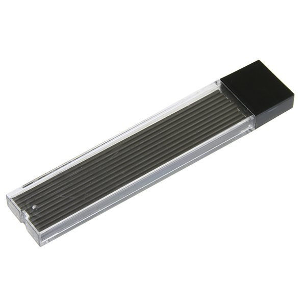 20 Pcs/set Sale Promotion Plastic Automatic Pencil Box 2.0mm Graphite Lead 2b Mechanical Pencil Refill