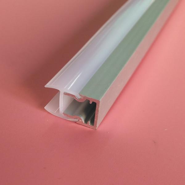 Бесплатная Доставка 6063 Алюминий и канал перила / стеклянные перила и профиль / анодированный алюминий c размеры канала подгонять