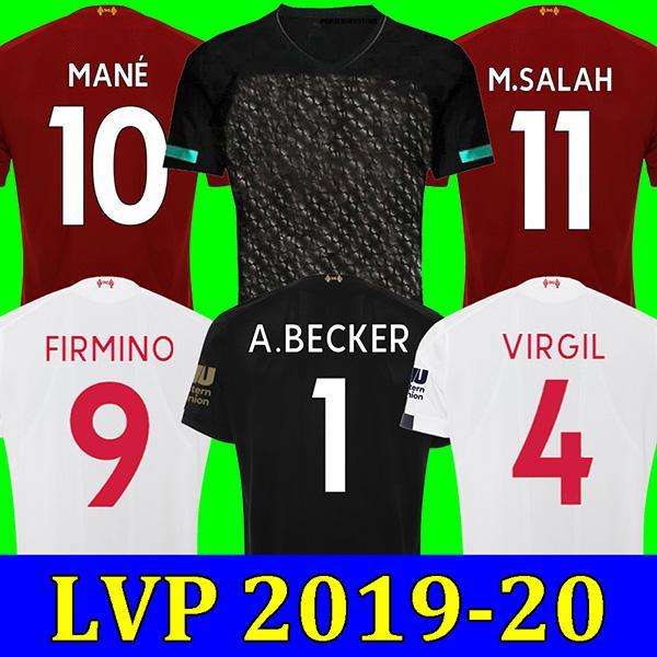 Liverpool Ливерпуль 19 20 SALAH футболка MANE футболка 2019 2020 Camiseta de futbol черный FIRMINO майо де ног ВИРДЖИЛ ХЕНДЕРСОН ОРИГИ VIRGIL HENDERSON ORIGI