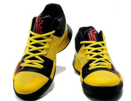 huge selection of 5a987 88678 2017 New Kyrie Mamba Mentality Kobe Bruce Lee Yellow Men Basketball Shoes  High Quality Kyrie III 3S Athletic Sports Sneakers Children Sports Shoes ...