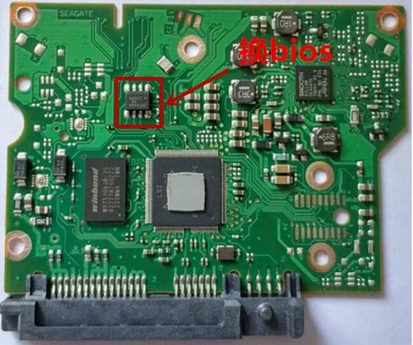 HDD PCB Logic Board 100687658 REV C , 100687658 REV B / 1332 / ST3000DM001 , ST1000DM003 , ST2000DM001