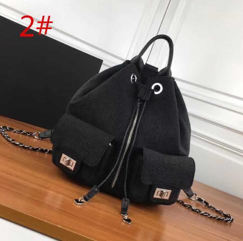Uluslararası ünlü çift C2018 yeni moda kanvas çanta tek omuz çantası