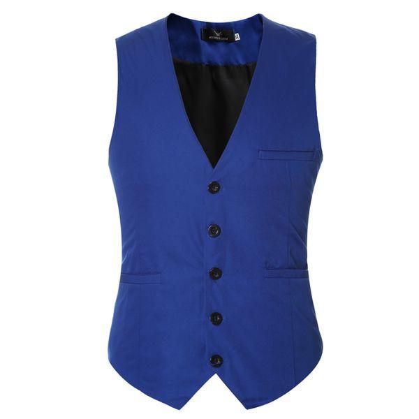 2019 New And Fine Cool Single Breasted Vests British Style Suitable For Men Wedding / Dance / Dinner Best Men Vest Large-Size Men Jacket