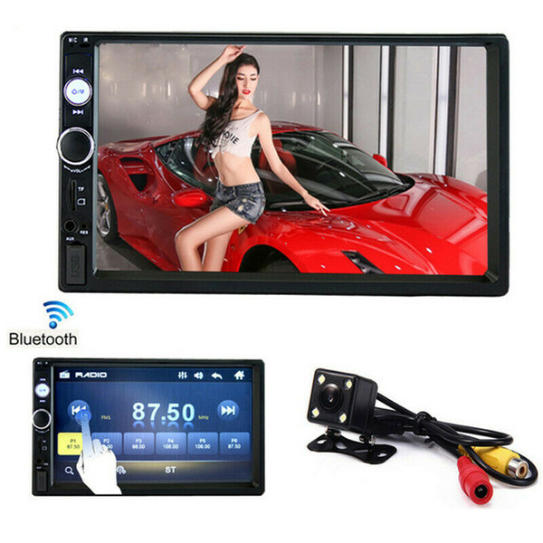 top popular Car Radio Player Mirror Link autoradio 2 din General Car Models 7'' inch LCD Touch Screen Bluetooth auto stereo Rear View Camera 2021