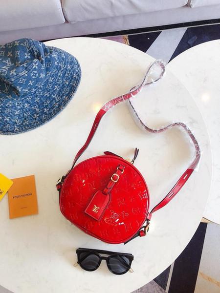 2020 Europa und Amerika L Marke V Handtasche der Frauen Mode Frauen Umhängetasche Marke Niet einzelne Schulterbeutel weibliche Beutel Handtaschen Portemonnaie 054