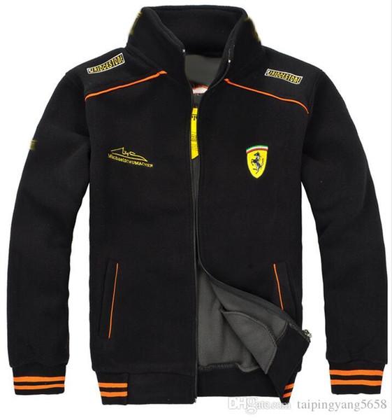 F1 Race Suit Uomini Polar Fleece Jacket cappotti shirt Tops rivestimenti degli uomini del vestito di Pegasus racing