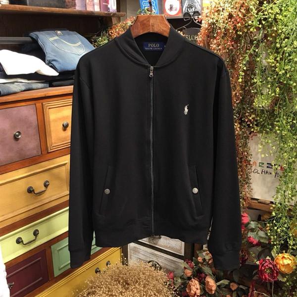 19AW Marque de luxe design Vestes RL Sweats Hommes Femmes Vêtements Pull Mode Petit Logo Streetwear Outdoor Sweats à capuche Manteau