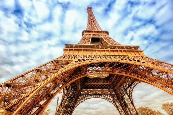 2019 Wall Art Painting Printed On Canvas Paris Eiffel Tower Street Landscape Pictures Living Room Master Bedroom Living Room Decor Dye010 From
