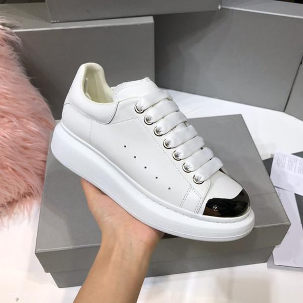 Designer de luxo dos homens sapatos casuais Low cut tênis transparentes superstars Moda Clássico mulheres apartamentos sapatos Casal modelos yd19062105