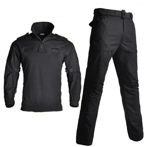 US Army Uniform Camouflage Suit Hunting Clothes Tactical Combat Uniform Multicam Shirt + Pants