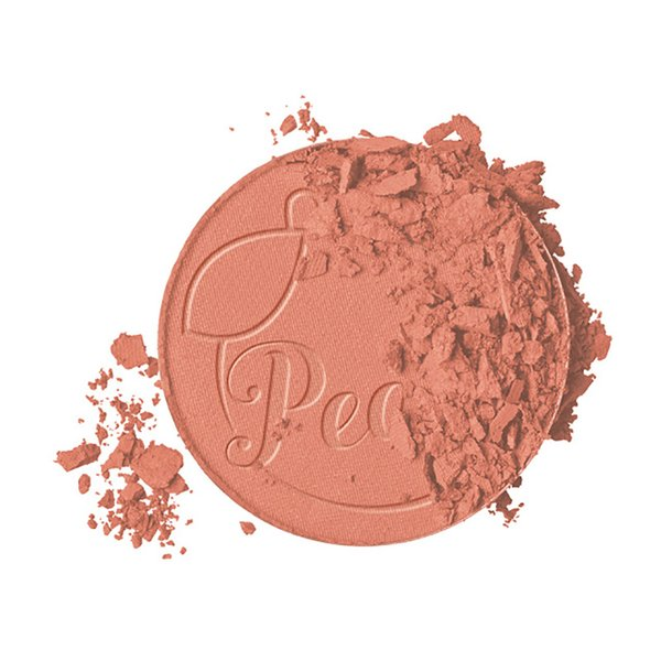 Huda Face Makeup Beauty Papa Don't Sweet Peach Infused Blush Long lasting Glow Pressed Powder 9g