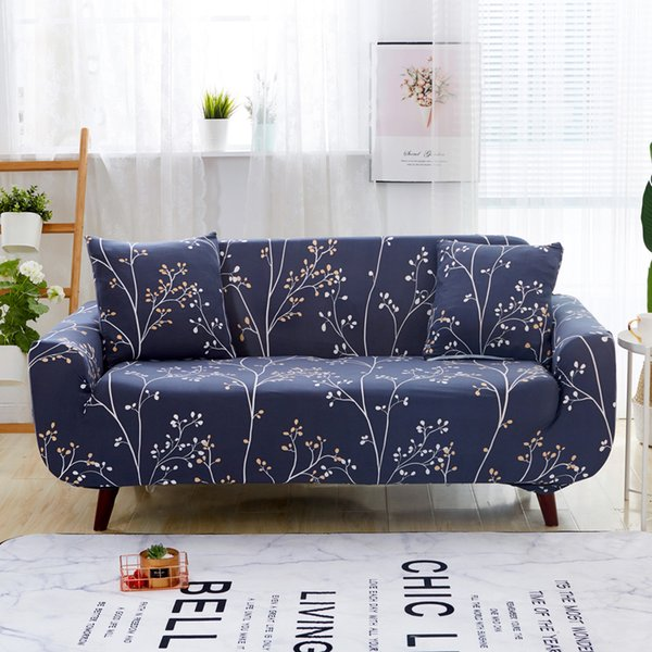 Surprising The Fashion Universal Size Sofa Cover Includes Single Seat Double Seat Three Seat And Four Seat Sofa Free 2 Pillowcases Cheap Chair Covers To Buy Creativecarmelina Interior Chair Design Creativecarmelinacom