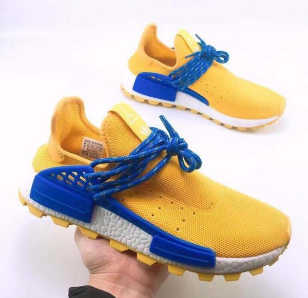 Human Race Shoes pharrell williams men casual shoes Nerd black cream Holi mens trainers women designer sports runner sneakers Cheap wholesal